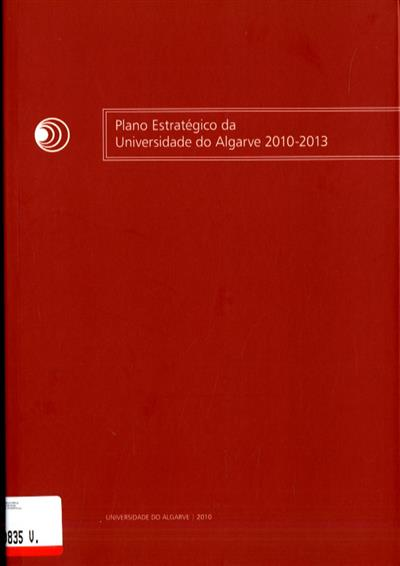 Plano estratégico da Universidade do Algarve, 2010-2013