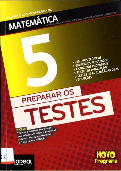 Matemática 5 (António Sousa... [et al.])