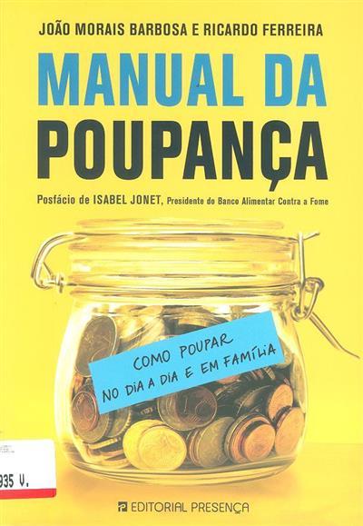 Manual da poupança (João Morais Barbosa, Ricardo Ferreira)