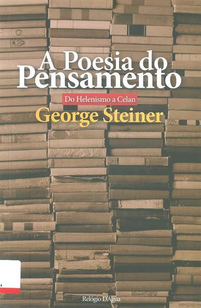 A poesia do pensamento (George Steiner)