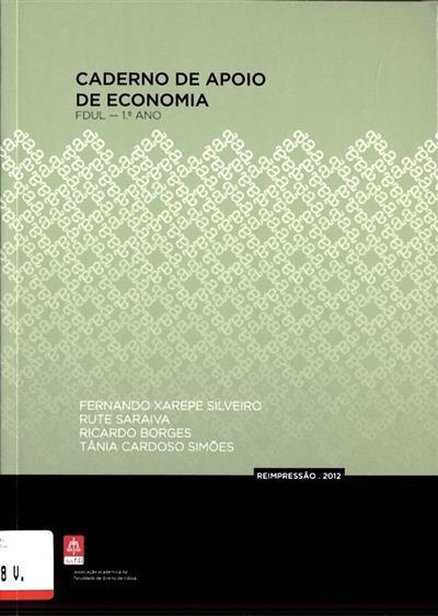 Caderno de apoio de economia (Fernando Xarepe Silveiro... [et al.])