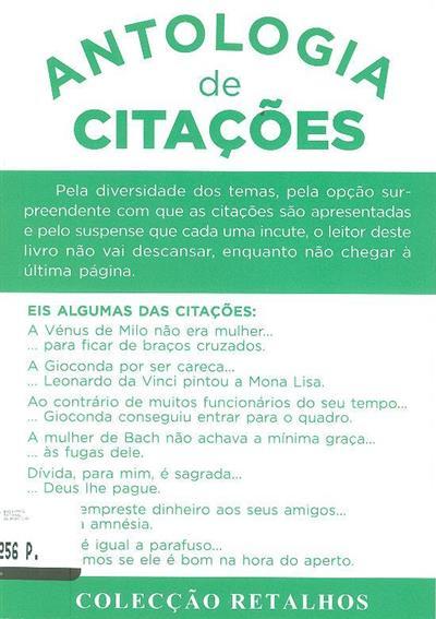 Antologia de citações (Nunes dos Santos)