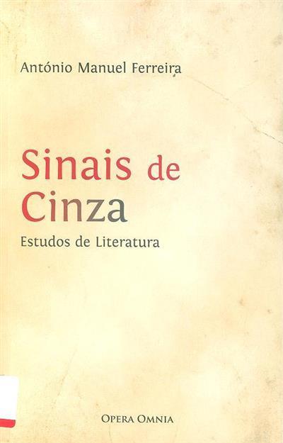 Sinais de cinza (António Manuel Ferreira)