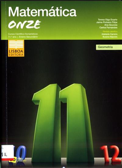 Matemática onze (Teresa Olga Duarte... [et al.])