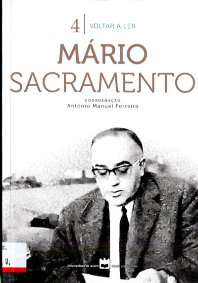 Mário Sacramento (coord. António Manuel Ferreira)