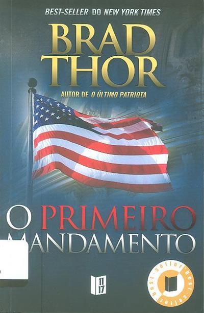 O primeiro mandamento (Brad Thor)
