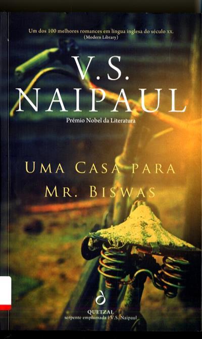 Uma casa para Mr. Biswas (V. S. Naipaul)