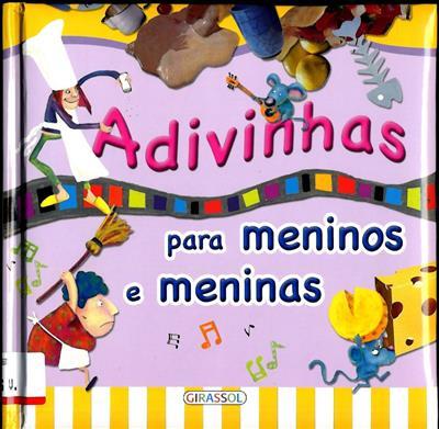 Adivinhas para meninos e meninas (il. Florencia Cafferata)
