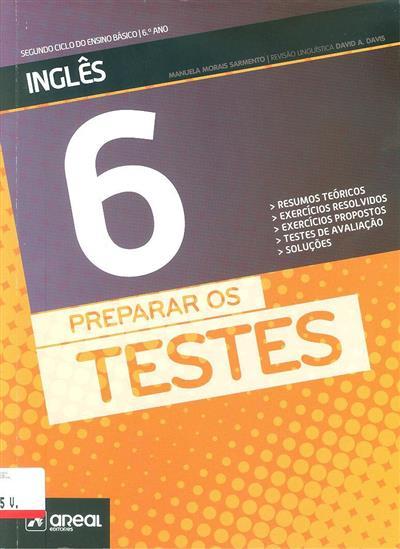 Preparar os testes (Manuela Morais Sarmento)