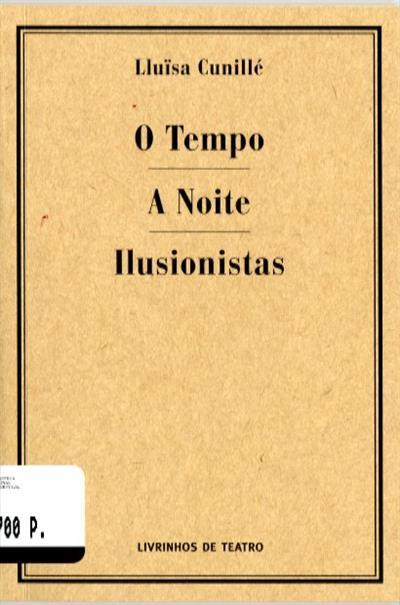 O tempo ; (Lluïsa Cunillé)