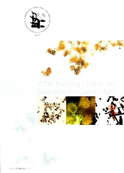 ICCP training course on dispersed organic matter
