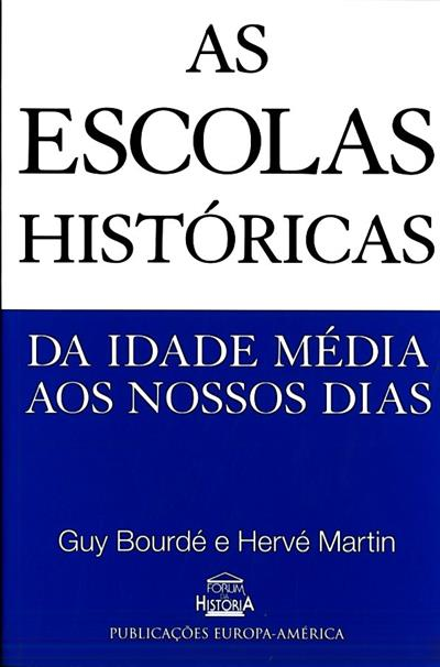 As escolas históricas