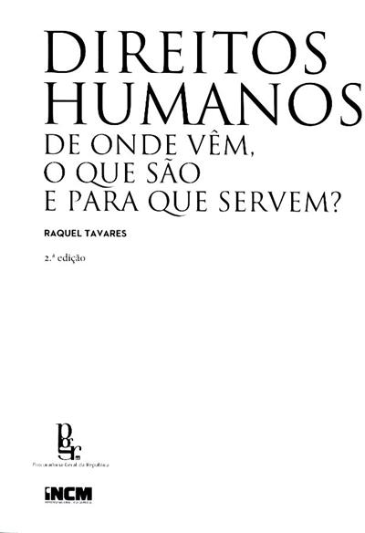Direitos humanos (Raquel Tavares)