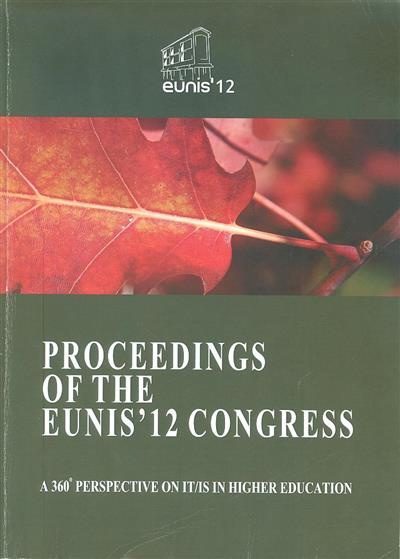 Proceedings of the EUNIS'12 Congress