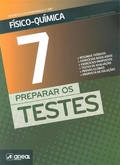 Preparar os testes 7 (Guida David, Maria do Carmo Borges)