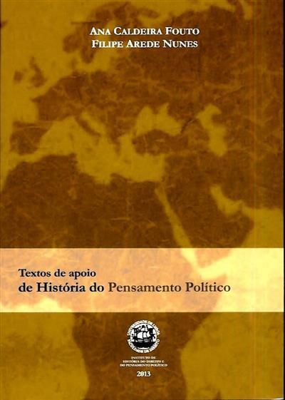 Textos de história do pensamento político português (Ana Caldeira Fouto, Filipe de Arede Nunes)