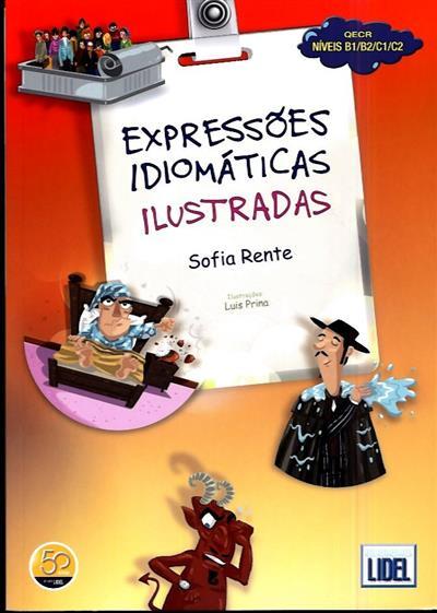 Expressões idiomáticas ilustradas (Sofia Rente)