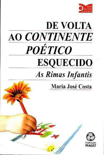 De volta ao continente poético esquecido (Maria José Costa)