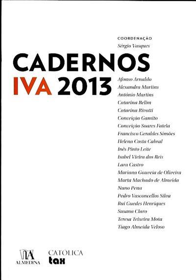 Cadernos IVA (coord. Sérgio Vasques)