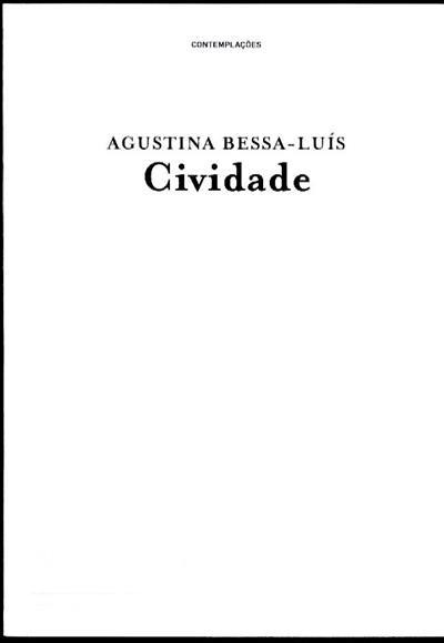 Cividade (Agustina Bessa-Luís)
