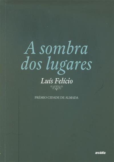 A sombra dos lugares (Luís Felício)