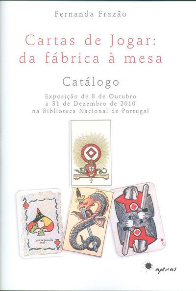 Cartas de jogar (Fernanda Frazão)