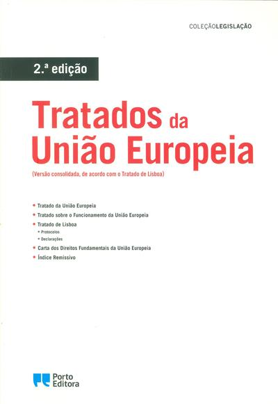 Tratados da União Europeia (coord. Isabel Rocha)