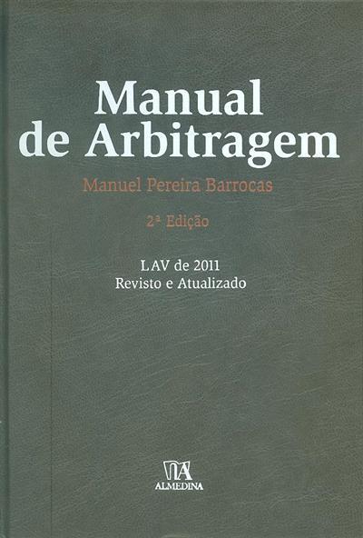 Manual de arbitragem (Manuel Pereira Barrocas)