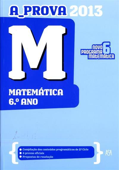 M, matemática 6º ano ([compil.] Edições ASA II)