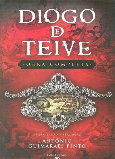 Diogo de Teive (trad., transcr., introd., notas António Guimarães Pinto)