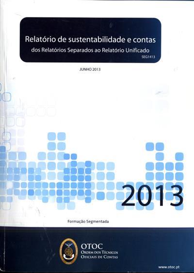 Relatório de sustentabilidade e contas (Maria Augusta Fernandes)