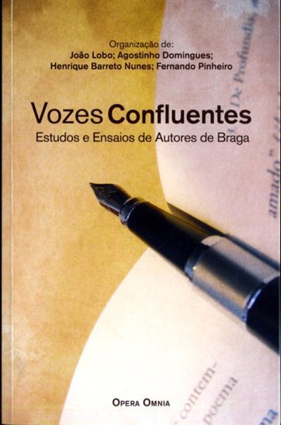 Vozes confluentes (org. João Lobo... [et al.])