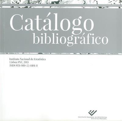 Catálogo bibliográfico (Instituto Nacional de Estatística)