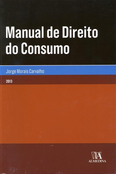 Manual de direito do consumo (Jorge Morais Carvalho)