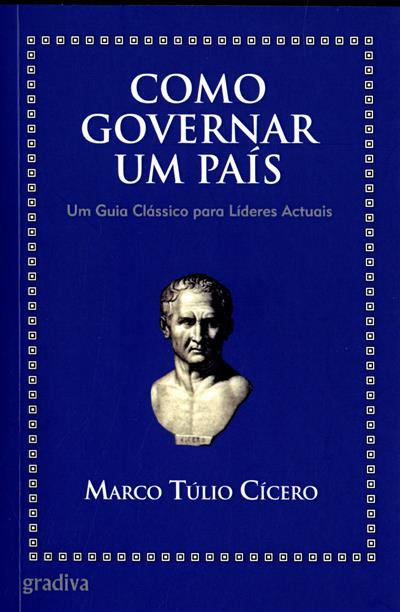 Como governar um país (Marco Túlio Cícero)