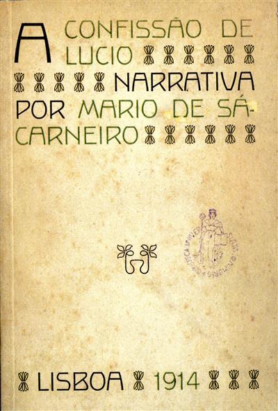 Confissão de Lúcio (Mário de Sá-Carneiro)