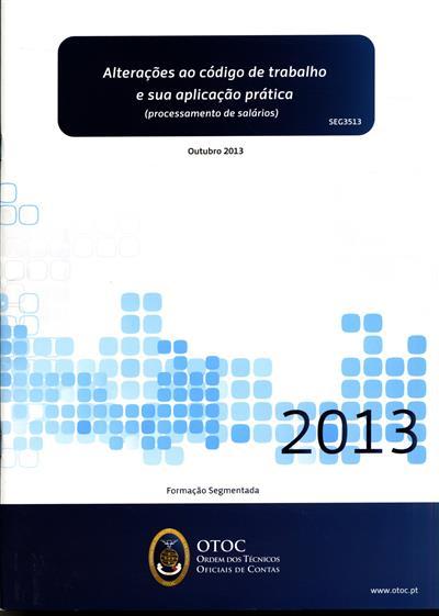 Alterações ao código de trabalho e sua aplicação prática (Filipa Magalhães)