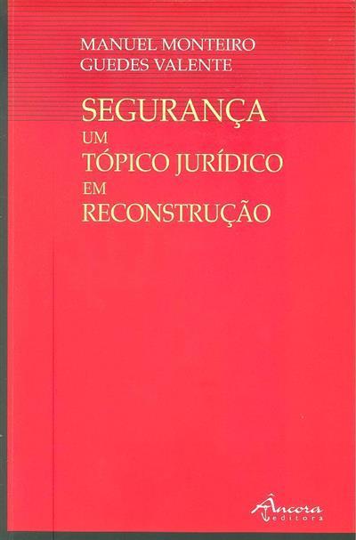 Segurança (Manuel Monteiro Guedes Valente)