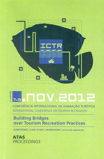 Atas da II Conferência Internacional de Animação Turística (coord. Francisco Dias, Fernanda Oliveira)
