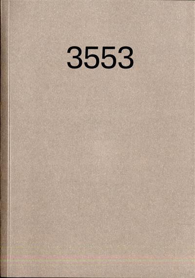 3553 (concep. Teresa Pavão, Bárbara Coutinho)
