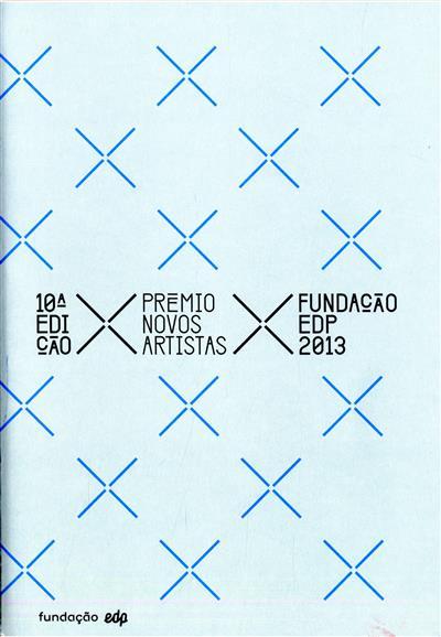 10ª edição Prémio Novos Artistas [da] Fundação EDP 2013 (coord. José Manuel dos Santos)