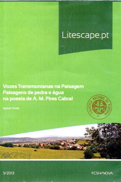 Vozes transmontanas na paisagem (Ana Fernandes Alves)