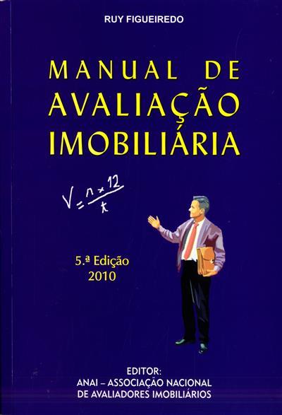 Manual de avaliação imobiliária (Ruy Figueiredo)