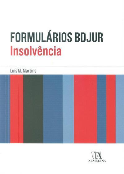 Formulários BDJUR (Luís M. Martins)