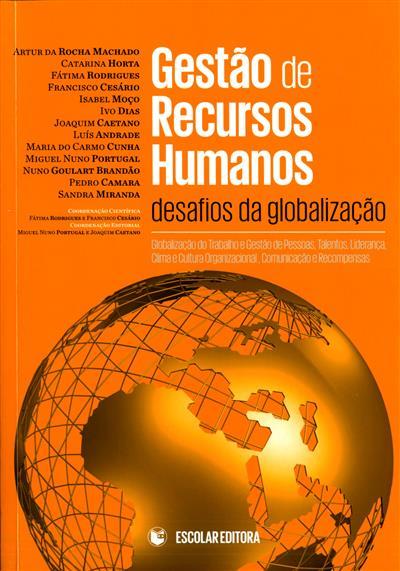 Gestão de recursos humanos (Artur da Rocha Machado... [et al.])