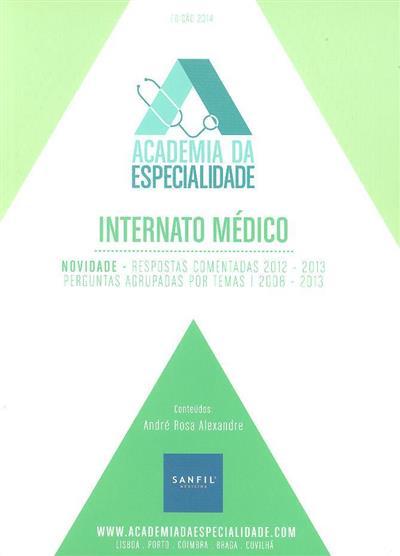 Livro de perguntas (André Rosa Alexandre, João Tavares Ferreira, Alexandre Sepriano)