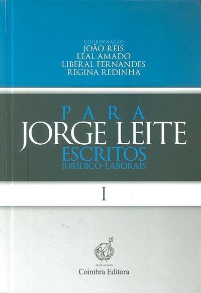 Homenagem ao Prof. Doutor Jorge Leite (cord. João Reis... [et al.])