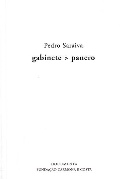 Gabinete - panero (Pedro Saraiva)
