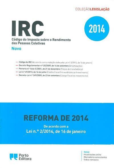 IRC (coord. Isabel Rocha, Joaquim Freitas Rocha)
