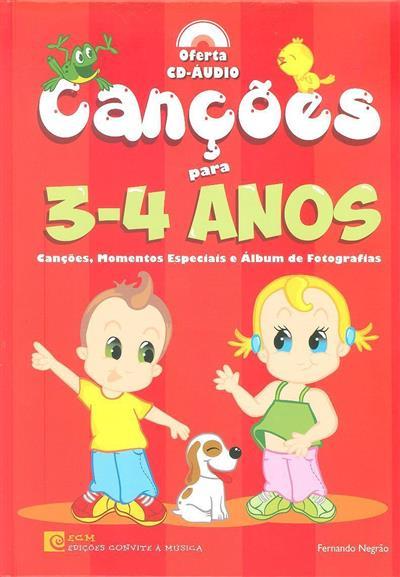 Canções para 3-4 anos (Fernando Negrão)